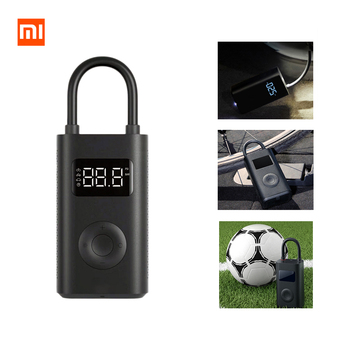 Xiaomi Electric Inflator Pump Bike Tire Pressure Detection Digital Electric air Pump Smart Portable For Motorcycle Car Football