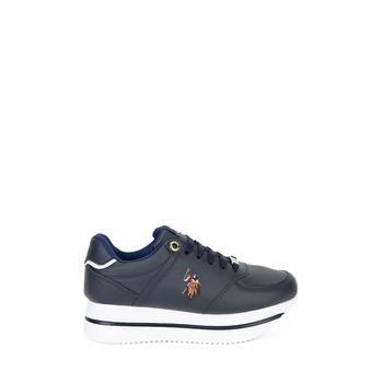 Us Polo Assn Granatowe niebieskie buty 50231407-VR033 tanie i dobre opinie U S POLO ASSN Navy blue Standard Shoes Women s