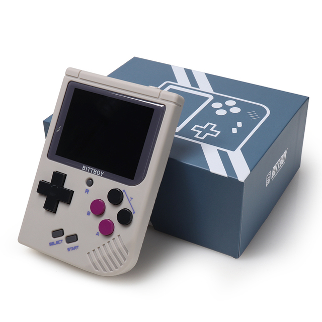 New BittBoy V3.5 + memory card with Steward system game console