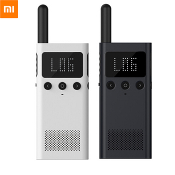 Original Xiaomi Mi Smart Walkie Talkie 1S With Fm Radio Speaker Smart Phone App Control Location Share For Outdoor hpx ag01 1s original