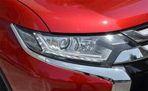 Image 4 - ไฟหน้ารถสำหรับ Mitsubishi Outlander 2016 2017 2018 ไฟหน้ารถเปลี่ยน Auto SHELL COVER