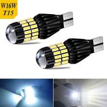 Ampoules LED W16W T15, Canbus OBC sans erreur, feu de recul 921 912 pour Lexus GS300 GS350 RX350 Mazda 2 5 6 CX-5 CX-9 2 pièces