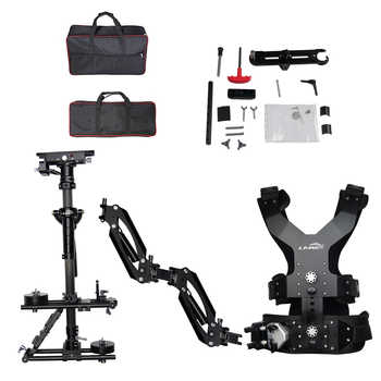 LAING M30PX 15kg weight bear carbon fiber Video camcorder Steadicam stabilizer Steadycam photography Vest Dual Support Arm - DISCOUNT ITEM  0% OFF All Category