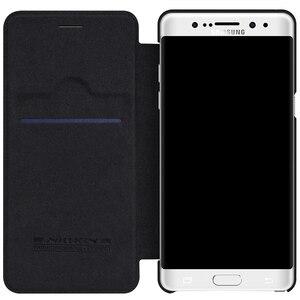 Image 3 - Nillkin For Samsung Galaxy Note FE Fan Edition Case Qin PU Flip Case For Samsung Galaxy Note FE Fan Edition Case Back Cover