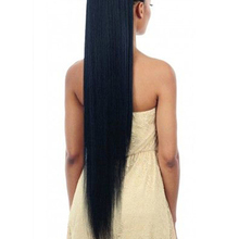Wig Hair-Extensions Ponytail Fake-Hair Synthetic-Hair-Fiber Heat-Resistant 30-Inch MSTN