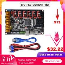 BIGTREETECH SKR PRO V1.2 32Bit Ban Kiểm Soát 3D Máy In Phần SKR V1.3 RAMPS 1.4 A4988 TMC2208 Uart TMC2130 TMC2209 Skr mini E3