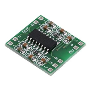 Mini Digital Amplifier Board 5V Power Amplifier Board Efficient with Switch Potentiometer USB Supply Power PAM8403