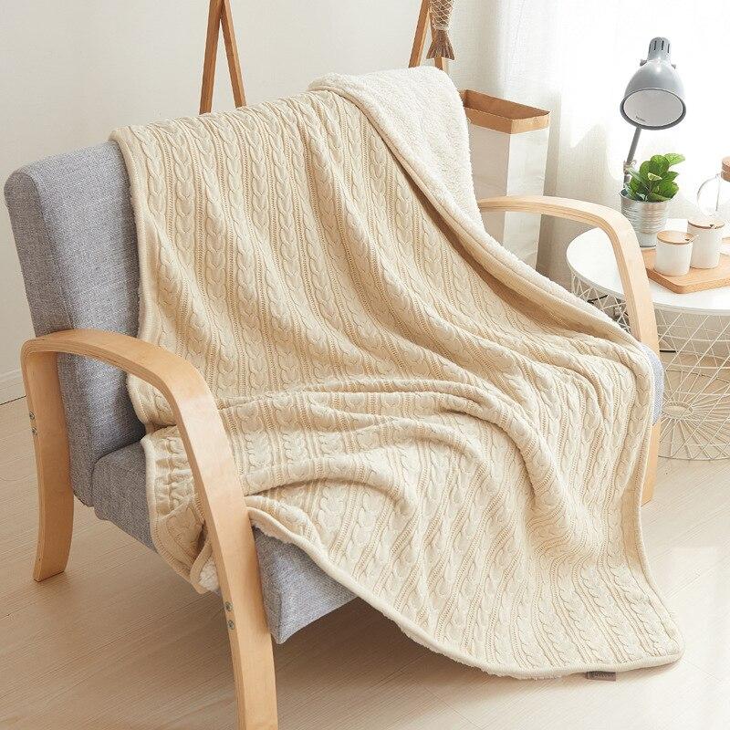 Весенне осеннее одеяло, кондиционер, одеяло, одеяла для кровати, меховое одеяло, вязаное одеяло, зимнее одеяло - 2