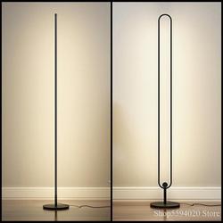 Nordic minimalista criativo sala de estar quarto estudo decoração piso lâmpada iluminação diária