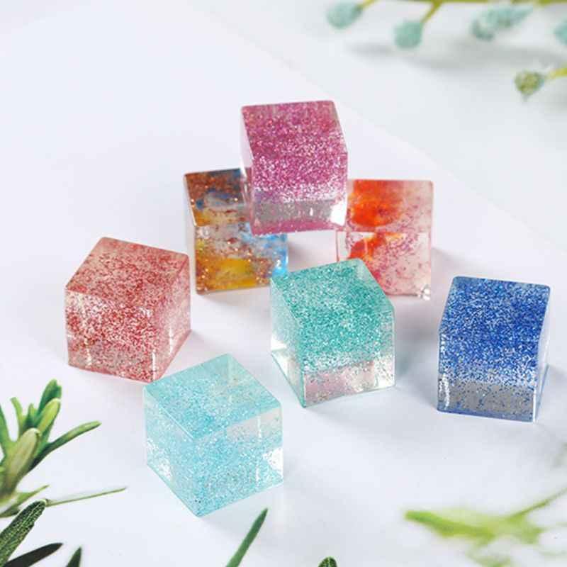 12 teile/satz DIY Kristall Epoxy Füllstoff Schleim Farbstoff Pulver Perle Pigmente Farbstoffe für Seife Kerze Harz Schmuck Machen