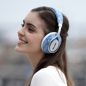Image 3 - Bluedio Air series A/A2 Bluetooth Headphones/Headset Fashionable Wireless Headphones for phones and music