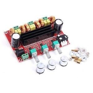 Image 3 - 2.1 Channel Subwoofer Audio Versterker Board 100W + 2*80W TPA3116D2 Power Digitale Stereo Amp Hifi DC12 24V