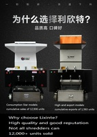 Plastic Shredder/plastic bottle crusher/plastic granulator Brand new RH