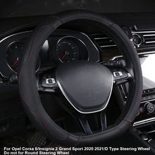 Cover-Wrap Steering-Wheel Opel Corsa 6/insignia Car Car-Styling Auto Sport for D-Type