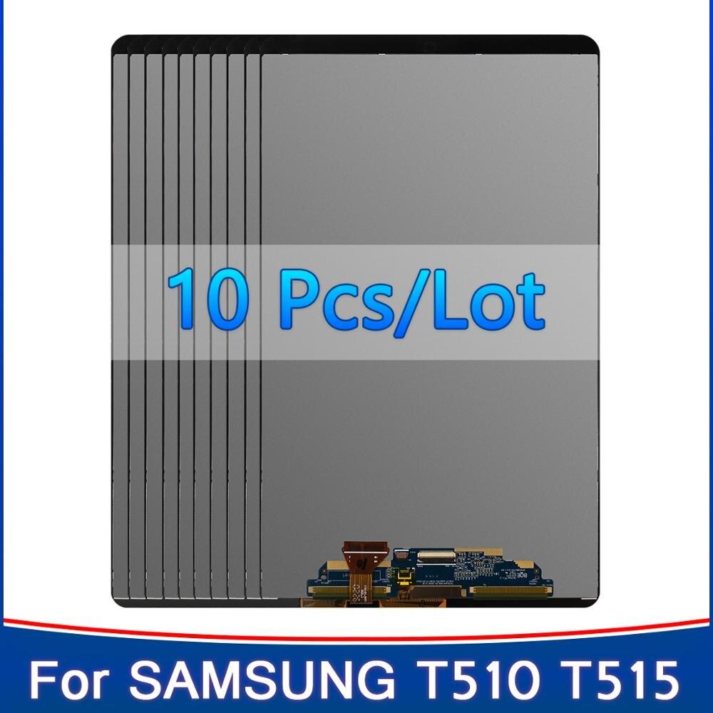 10 шт./лот 10,1 дюймов ЖК-экран Замена для Samsung Galaxy Tab A 10,1 (2019), Wi-Fi, T510 SM-T510 T515 ЖК-дисплей с сенсорным экраном в сборе