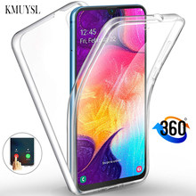 360 Full Body Phone Case For Huawei Mate 20 Pro Mate 10 P10 P20 P30 Lite P Smart 2019 2018 Y5 Y6 Y7 Pro Y9 2019 Clear Soft Cover(China)