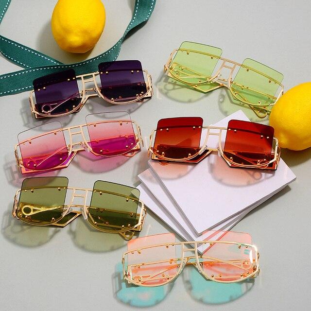 Sexy Square Sunglasses 6 Colors -Unisex 5