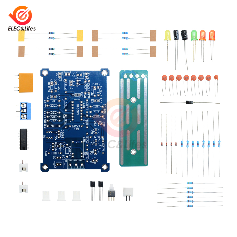NEW 5V Liquid Water Level Controller Module Water Level Detection Sensor Module With Led Indicator PCB Board DIY Kit