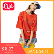 Toyouth Dinosaur Female T-shirt Summer Tops For Women 2019 O neck Pattern Kawaii Casual Funny Tshirt Tops(China)
