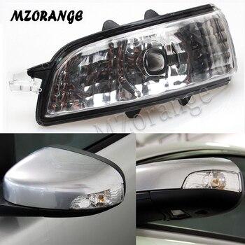 Espejo retrovisor de luces para Volvo S40 S60 S80 C30 C70 V50 V70 2007 de 2008, 2009/Espejo derecho luz intermitente lámpara