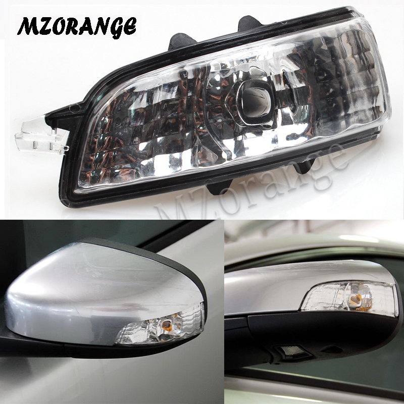 Rearview Mirror Lights For Volvo S40 S60 S80 C30 C70 V50 V70 2007 2008 2009 Left/Right Mirror Indicator Turn Signal Light Lamp