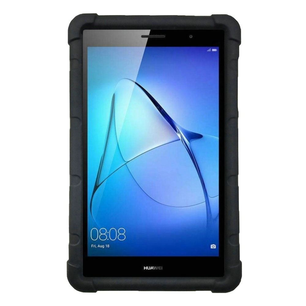 Bouncing Case For Huawei MediaPad T3 8 Tablet Cover With Handstrap KOB L09 KOB W09 Kids Friendly Silicone Rugged Case|Tablets & e-Books Case| |  - title=