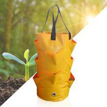 Serre Jardin garden hanging bag removable large-capacity growing bag  planting solid color potato bag terrace planting bag