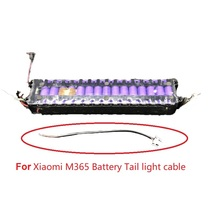 Suitable For Xiaomi M365 Battery Tail light cable Smart Electric Scooter foldable Circuit board LED tail Part