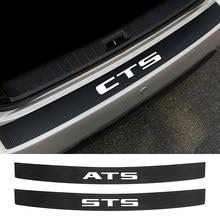 Autocollant de couverture de pare-choc arrière de voiture, pour Cadillac ATS BLS CT4 CT5 CT6 c3 Escalade EXT SLR SLS SRX STS XLR XT4 XT5 XT6 XTS