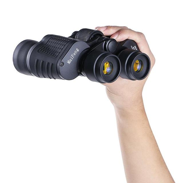 Binoculars 80X80 Long Range 15000m HD High Power Telescope Optical Glass lens Low light night vision for Hunting Sports scope 5