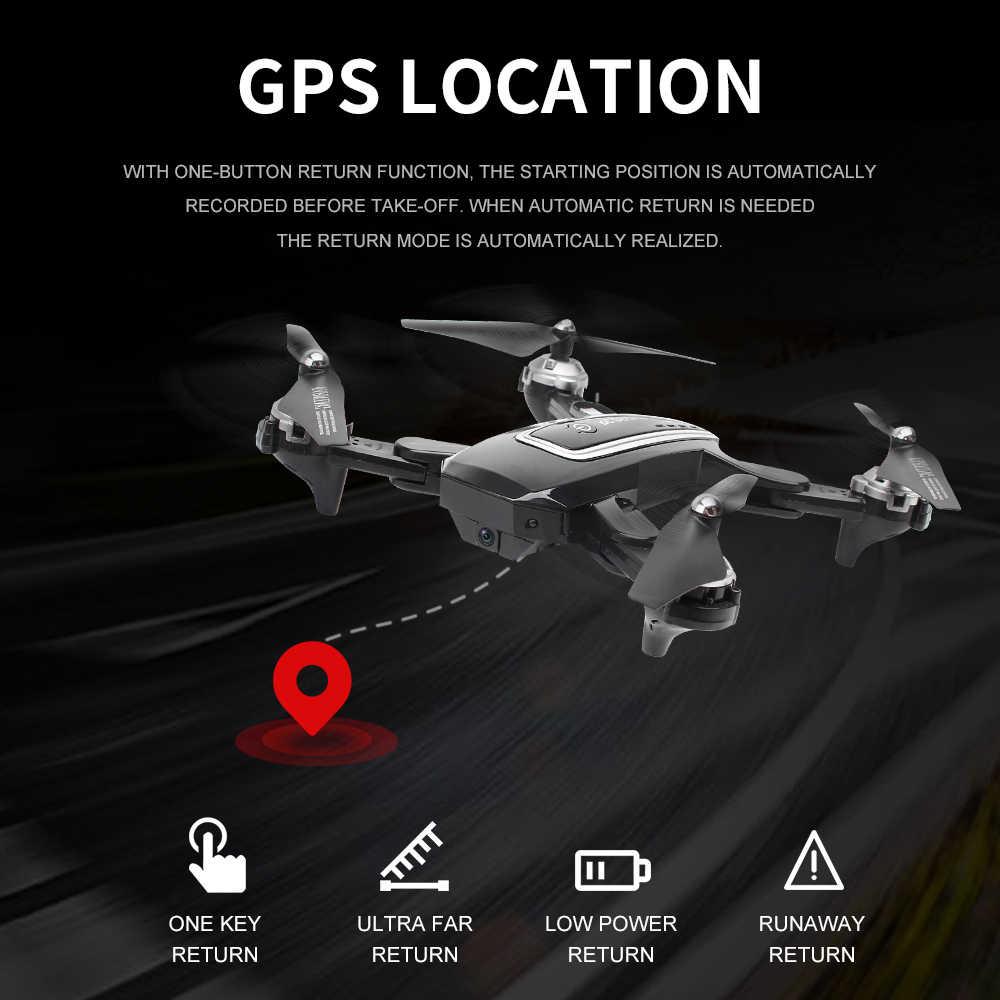 菱形 HJ38 gps ドローンフォローミー wifi quadcopter ヘリコプター 4 18k カメラドローン折りたたみ高度ホールド rc ドローンとカメラ