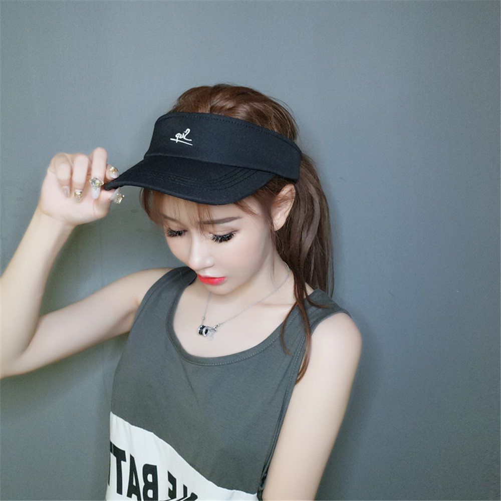 Men's And Women's Summer Ins Sky Hat Korean Version Of The 100% Matching Cap No Top Sports Sun Hat Baseball Cap WS-2813