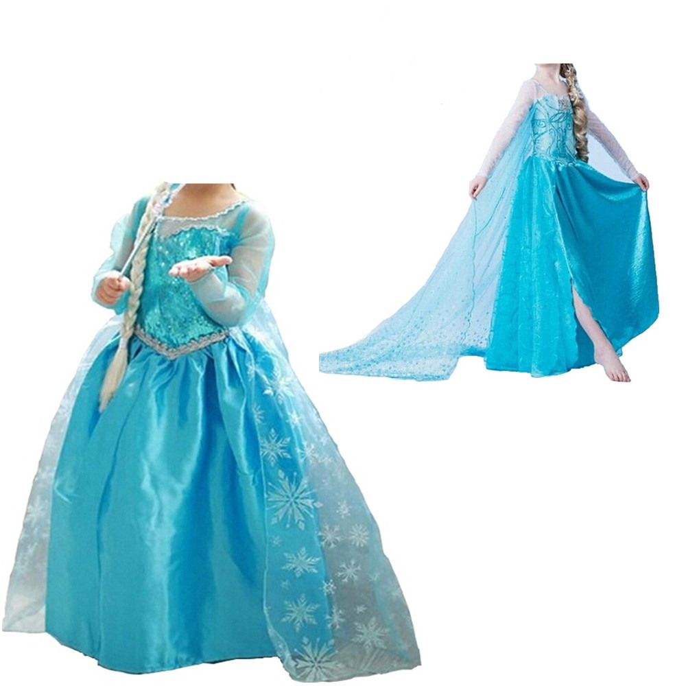 Autumn Long Sleeves Dresses Girls Little Princess Dress Kid's Party Dress Girl Clothes Children Halloween Costumes 8T Kid's Party cb5feb1b7314637725a2e7: 1|2