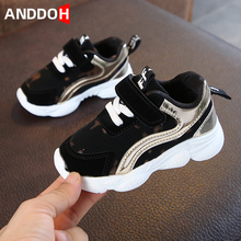 Toddler Shoes Sneakers Girls Baby Boys Casual with Breathable Hook Loop Wear-Resistant