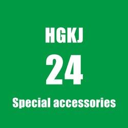 Hgkj24 plastic coating special accessories yellow round sponge white nano sponge gray superfine fiber towel