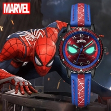 Spidermen Child Super Hero Cool Quartz Watch Marvel Student Clock Teen Boys Birthday Gift Kids Luxury Hour Young Men Hot Time