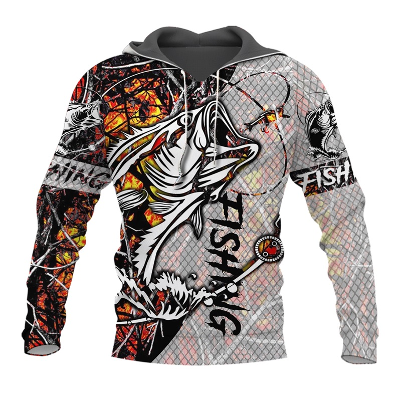 PLstar Cosmos New Fisherman fisher Fishing Art Harajuku casual Tracksuit Funny 3D Print Hoodies/pullover/Jacket/Men Women-50