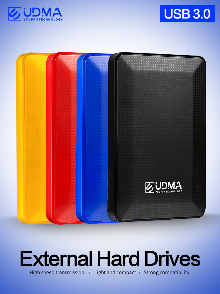 UDMA Usb 3.0 External Hard Disk Drive 2TB 500G Disco Duro Externo 1Tb HDD Usb Original Storage Device Cute Usb Flash Drive 120Gb