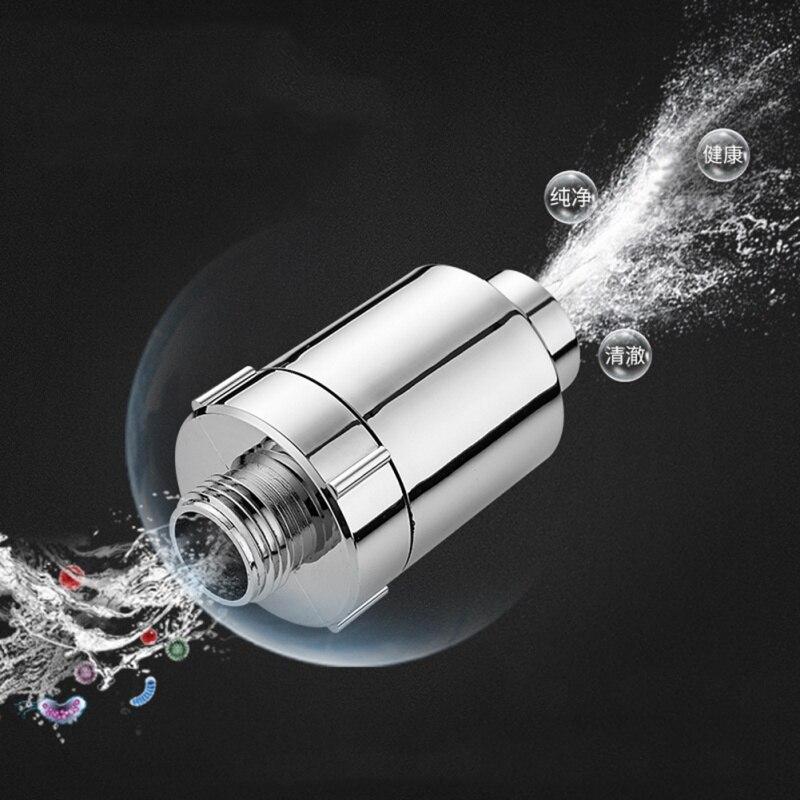 Dechlorinator Negative Ion Shower Hose Filter Connector Multifunctional Single Cold Faucet Filter Shower Head Water Purifier