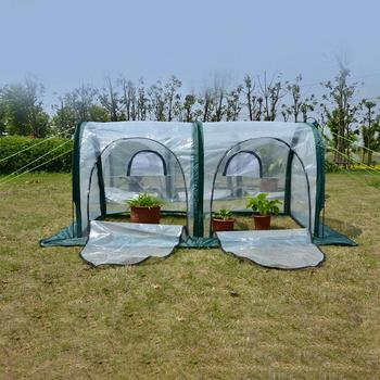 Mini greenhouse garden shed garden greenhouse outdoor home insulation planting greenhouse greenhouse 3 sizes 1