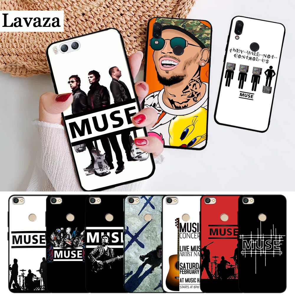 Lavaza Muse Band Lyrics Music Songs Silicone Case for Xiaomi Redmi Note 4X 5 5A Prime 6 7 8 Pro 8T image