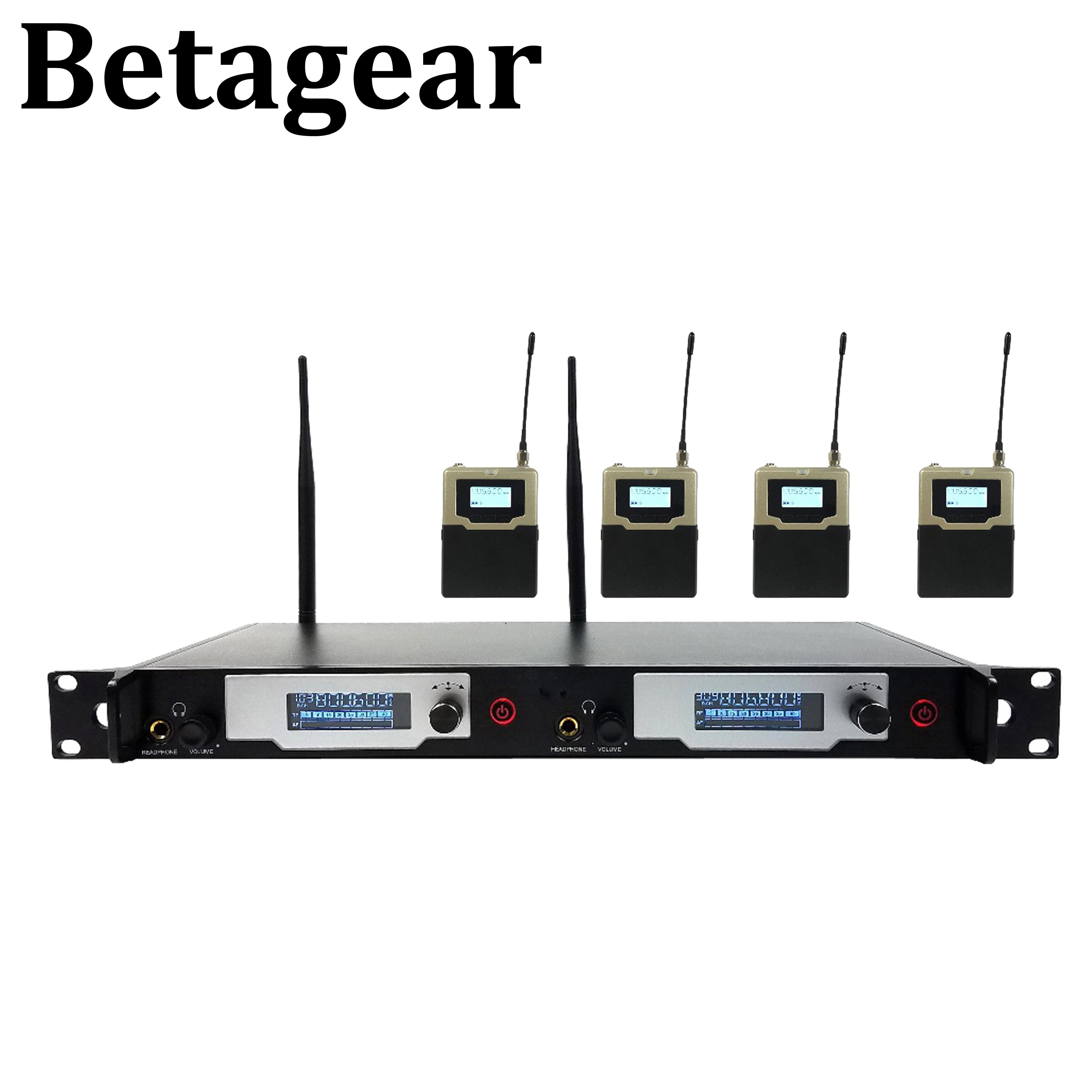 Betagear Auf-bühne monitor L9400 in ohr-monitor drahtlose system UHF IEM Bühne überwachung stereo Professionelle Bühne Überwachung