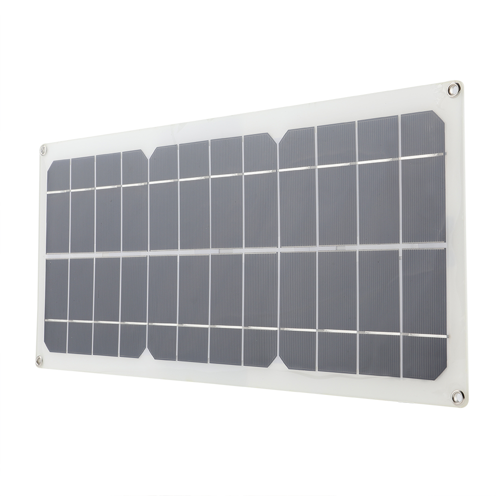 14v 10w painel solar kit semi-flexível polysilicon