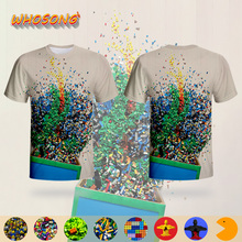 LEGO Streetwear Colorful Funny Toys T shirt WHOSONG 3D
