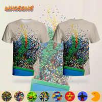 LEGO Streetwear colorido Juguetes T camisa WHOSONG 3D camiseta familia ropa de los niños tops populares gran oferta nuevo diseño hombres camisetas