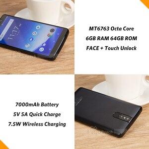 "Image 5 - LEAGOO Power 5 Smartphone 5.99"" FHD+ 18:9 RAM 6GB ROM 64GB Android 8.1 MT6763 Octa Core 7000mah Dual Rear Cams 4G Mobile Phone"