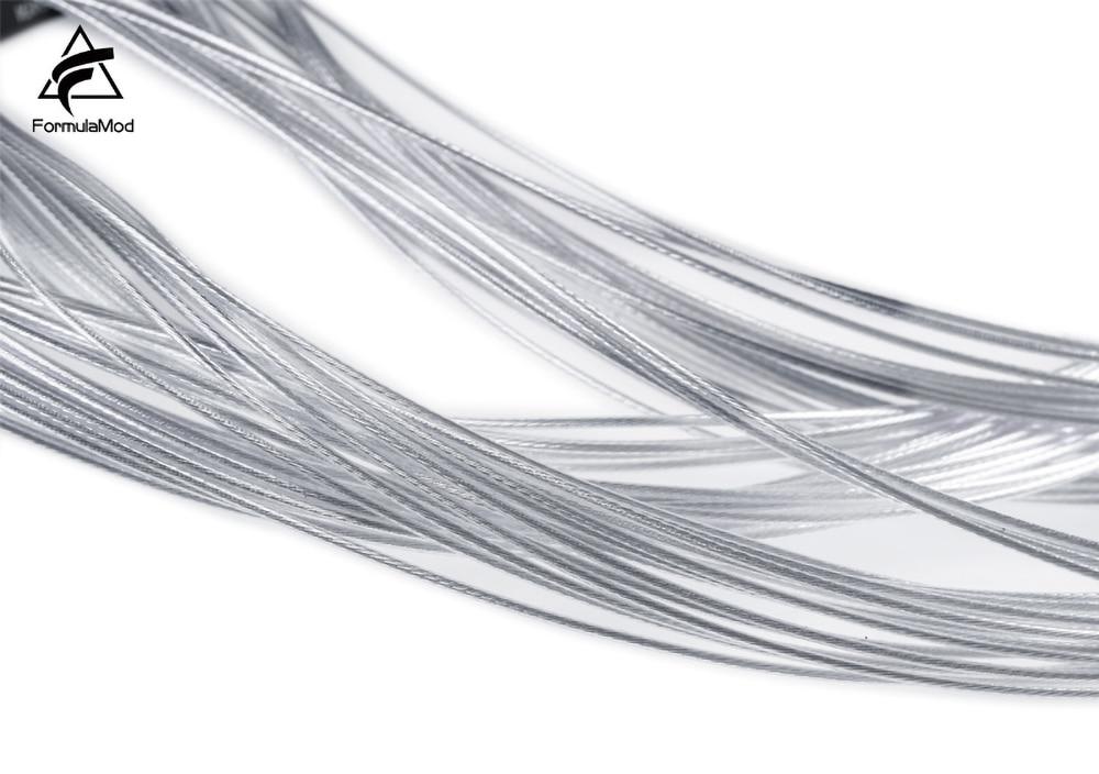 FormulaMod Fm-DYXZ, Fully Modular PSU Cable Kit, 18AWG Silver Plated, Kit For EVGA, Corsair, SeaSonic, Asus, Antec Modular PSU