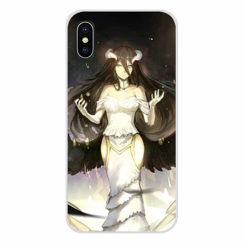 Untuk Samsung Galaxy J1 J2 J3 J4 J5 J6 J7 J8 Plus 2018 Prime 2015 2016 2017 Anime Overlord Pandora 'S Actor aksesoris Ponsel Kasus Penutup