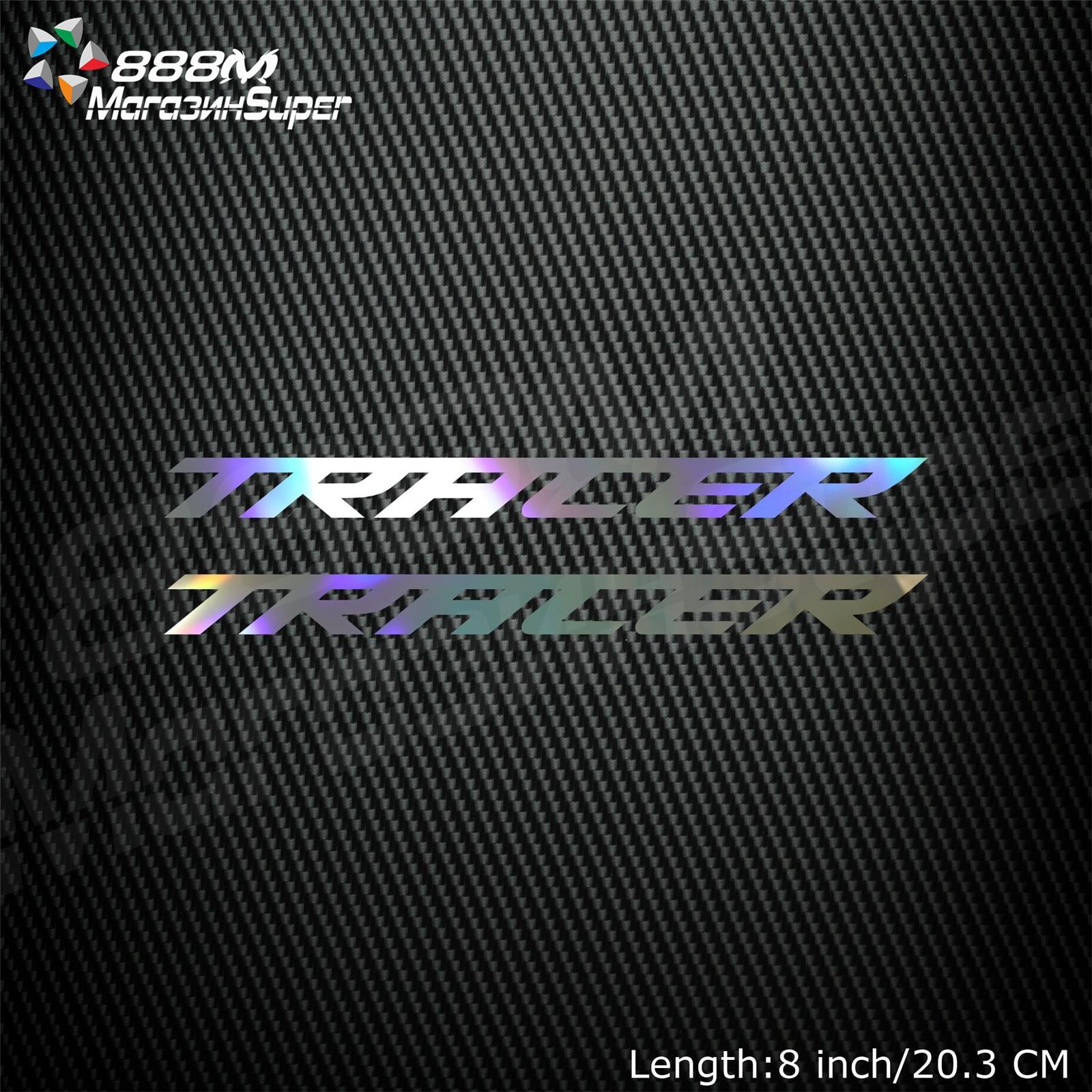 1Pair Motorcycle Reflective Laser Helmet Tank Pad Decoration Sticker Motorbike Decals For YAMAHA TRACER FZ09 MT 09