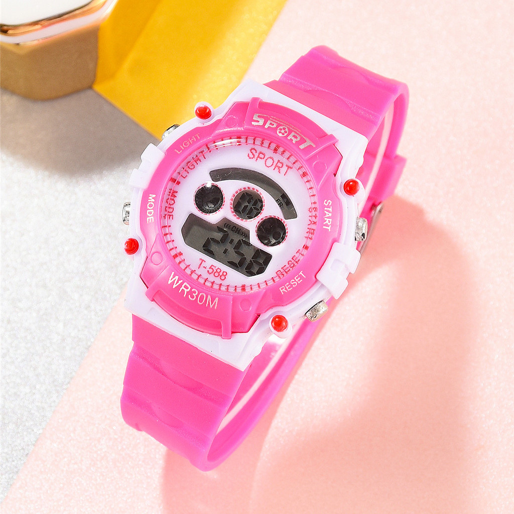 Children's Watch With Gps New Trend Fashion Children's Sports Watch Fashion Electronic Children's Watch Children's Watch 2020